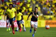 James Rodríguez lideró a la Selección Colombia en el triunfo ante Ecuador.