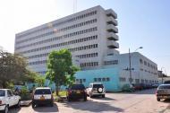 Hospital Universitario del Caribe de Cartagena donde fue trasladada la niña de cuatro años.