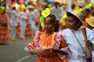 Niños piloneritos, danza tradicional de las fiestas vallenatas.