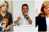 Los tres funcionarios fueron nombrados durante la mañana de este jueves.