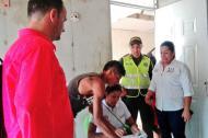 Inspección que realizaron los funcionarios de Fonvivienda y Fonvisocial.
