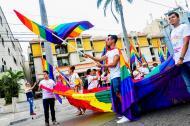 Marcha del orgullo LGBTI en Barranquilla, en 2016.