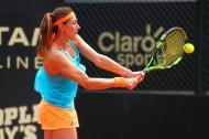 La tenista colombiana Mariana Duque.