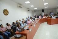 Aspecto del Concejo de Barranquilla.