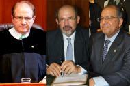José Leonidas Bustos, Francisco Ricaurte y Camilo Tarquino.