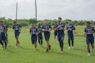 El equipo rojiblanco utilizará hoy la misma alineación que ante Millonarios.