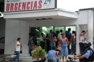 Los afectados fueron llevados a la clínica Campbell.