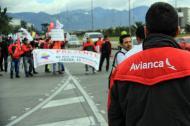 La huelga de pilotos de Avianca cumple este martes siete días.