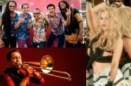 Colectro, Alberto Barros y Shakira, barranquilleros nominados al Grammy Latino 2017.