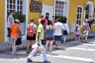 Al menos 100 mil turistas fueron esperados en Cartagena en esta Semana de Receso.