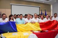La firma de la RAP estuvo antecedida por una protesta en la Uniatlántico.