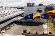 Edificio central del Fondo Nacional del Ahorro en Bogotá.