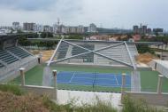 Cancha principal del Parque de Raquetas, ubicado al norte de la ciudad.