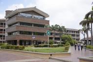 Uno de los bloques de la Universidad del Atlántico en la sede norte.