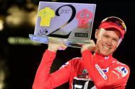 Chris Froome, campeón de la Vuelta a España 2017.