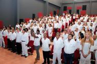Grupo de graduandos como gestores de paz y postconflicto.