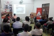 Evento realizado en la Biblioteca Meira Delmar.