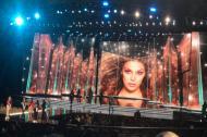 Ensayo de la velada de coronación en el teatro Axis del Planet Hollywood Resort de Las Vegas.
