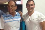 Jesús Bohórquez de 70 años, y su hijo Leandro de 32.