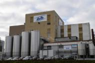 Esta es la fábrica de leche infantil de la compañía láctea Celia que pertenece al grupo LNS Lactalis.