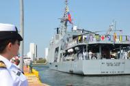 El buque 'ARC 20 de Julio'.