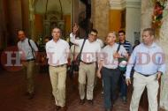 Visita de la Unesco a Cartagena.