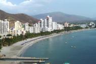 Panoramica de El Rodadero.