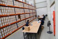 En las nuevas instalaciones, los archivos encuentran digitalizados a través de un software.