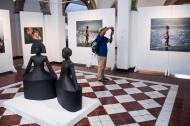 En la exhibición están las obras más destacadas de la convocatoria en la que participaron 1.667 personas.