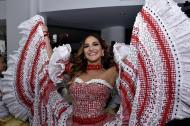 Valeria Abuchaibe Rosales, reina del Carnaval.