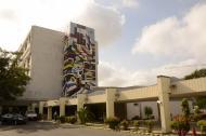 Fachada del hospital Cari, ubicado en el barrio Los Andes, en Barranquilla.