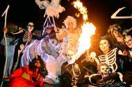 María José Romo, reina del Carnaval de Soledad, le ganó a la muerte el sábado durante el tradicional ceremonial.