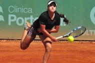La tenista cucuteña María Camila Osorio, ganadora el año pasado del mundial de tenis.
