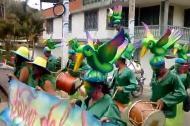 Imagen para ilustrar nota, de un desfile del Carnaval del Plateado.