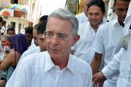 Álvaro Uribe Vélez, senador de la República.