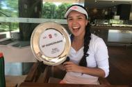 María Camila Osorio disfrutando de su título.