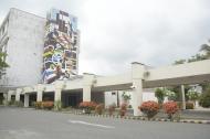 Fachada del edificio de alta complejidad del Hospital Universitario Cari E.S.E.