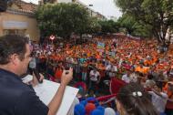 Vargas Lleras durante su visita a Cucutá.