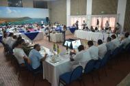 Aspecto de la Primera Cumbre de Ciudades Fronterizas con Venezuela