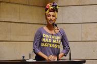 Marielle Franco en una sesión del Concejo de Río.