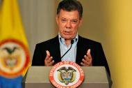 El presidente colombiano Juan Manuel Santos.
