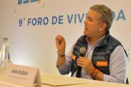 El candidato presidencial del Centro Democrático, Iván Duque.