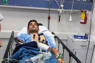 Óscar Sevilla debió ser sometido a cirugía por fractura en uno de sus brazos.
