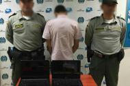 El adolescente detenido.