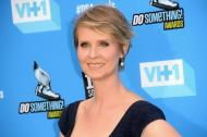 "Cynthia Nixon, reconocida por interpretar a la abogada Miranda en la serie televisiva ""Sex and the City""."