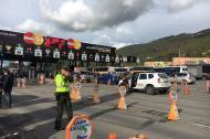 La Superintendencia de Puertos y Transporte, Bavaria y Argos se unieron para sensibilizar a los conductores durante el puente festivo.