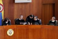 Sala penal de la Corte Suprema de Justicia.