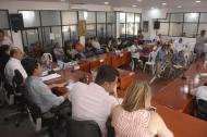 Aspecto de una sesión del Concejo del municipio de Soledad.