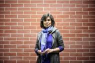La escritora y periodista colombiana Laura Restrepo.