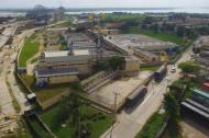 Panorámica de la planta de tratamiento de la empresa Triple A.